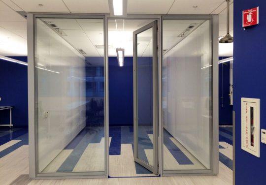 <b>Pareti modulari</b> per uffici e laboratori