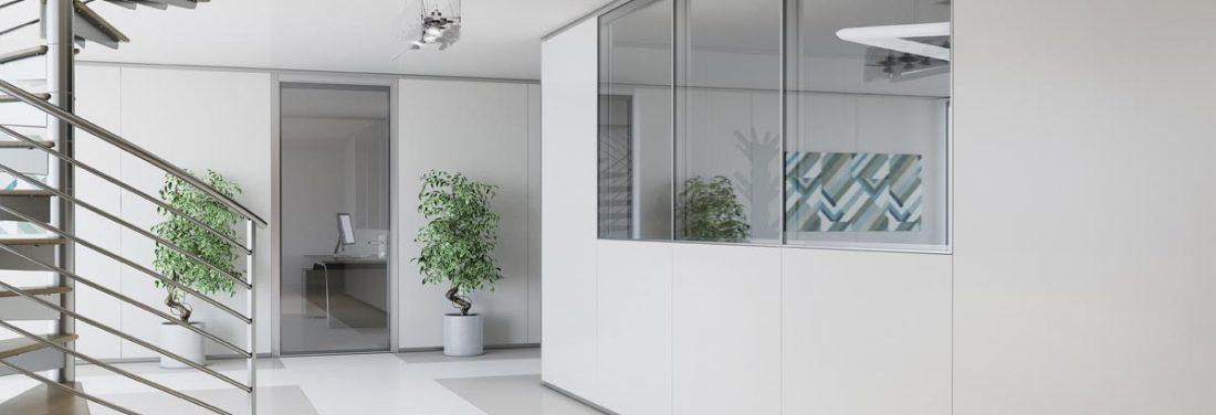 parete mobile modulare ufficio