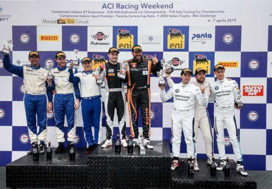 <b>Seven Metal</b> sul podio del Campionato Italiano Gran Turismo