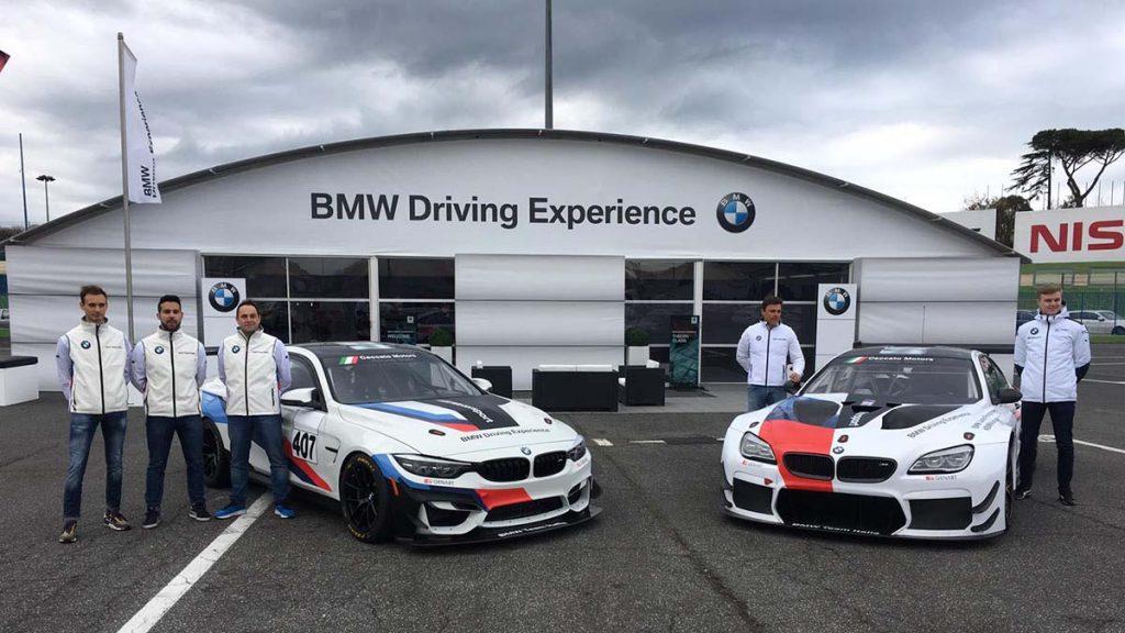 <b>Seven Metal</b> scende in pista con BMW