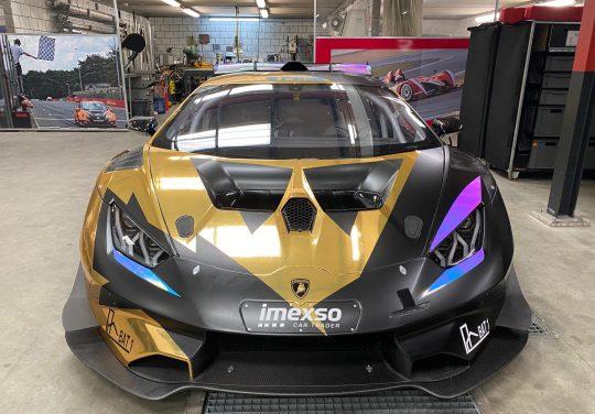 <b>Fascicolo</b> debutta nel Super Trofeo <b>Lamborghini</b>