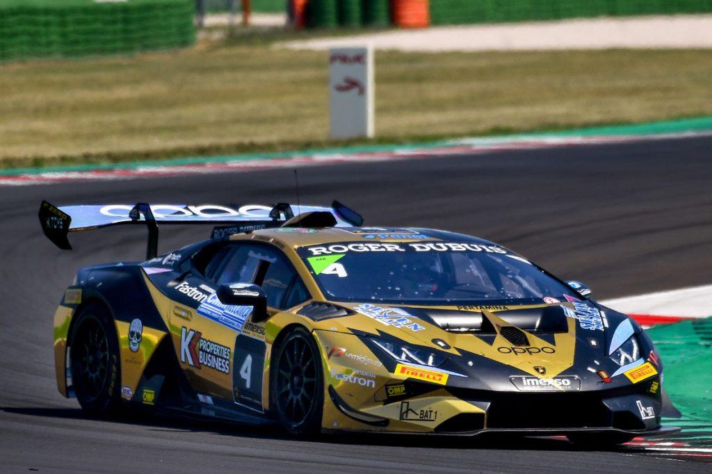 Due podi per <b>Fascicolo</b> e <b>7 Metal</b> nel primo round del Super Trofeo Lamborghini