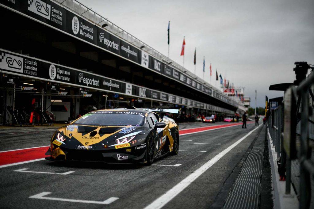 <b>Fascicolo e 7 Metal sul podio</b> a Spa nel Lamborghini Super Trofeo