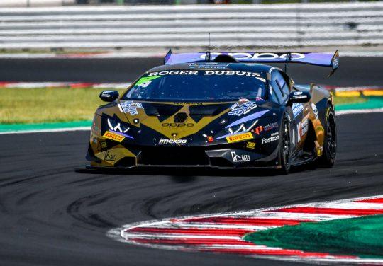 <b>Secondo round stagionale</b> per Fascicolo e 7 Metal nel Super Trofeo Lamborghini