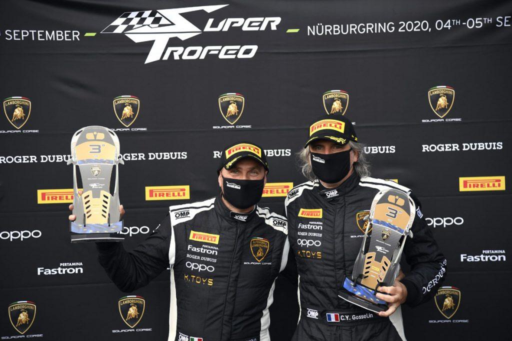 Terzo posto in campionato per <b>Fascicolo e Seven Metal</b> nel Lamborghini Super Trofeo Europa